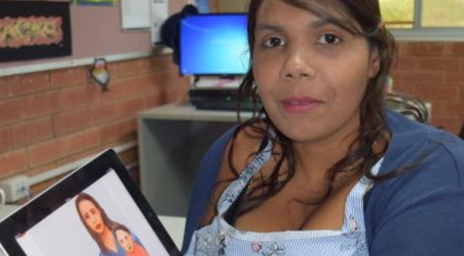 Interactive digital screening tool helping pregnant Aboriginal women