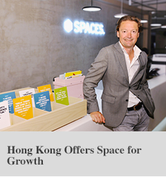 Hong Kong Offers Space for Growth