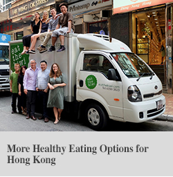 More Healthy Eating Options for Hong Kong