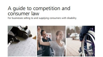 Front cover of ACCC guide to competition and consumer law