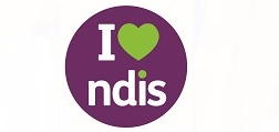 'I love NDIS' supporter logo