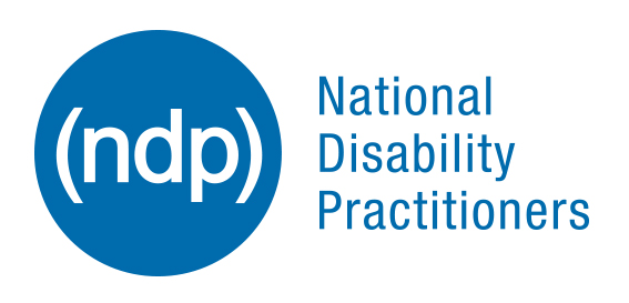 NDP National Disability Practitioners Logo