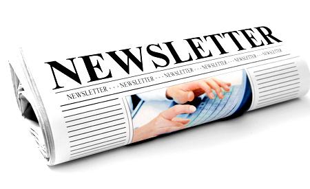 roll of newsletter