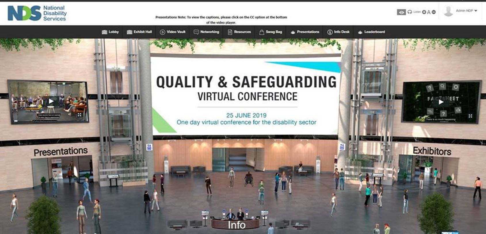 NDP Quality and Safeguarding Virtual Conference Page