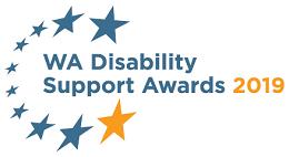 WA Disability Support Awards logo
