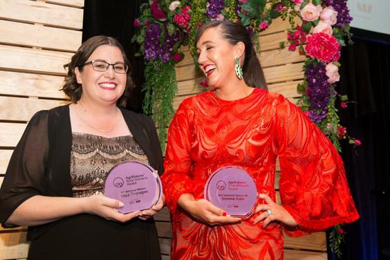 2017 Rural Women's Award finalists Tanya Dupagne and Simone Kain